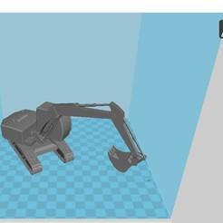 Download 3D printing designs Backhoe, 3dprintiing