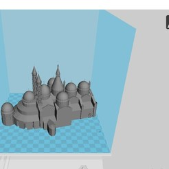 Download free 3D model St Anthony's Basilica, 3dprintiing