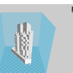 Download free 3D printing models Capsule Tower Japan, 3dprintiing