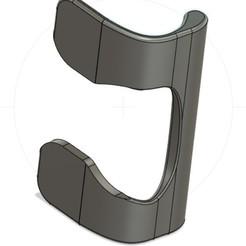 poignée frigo.jpg Download STL file Fridge Handle • 3D printable template, 3dprintiing