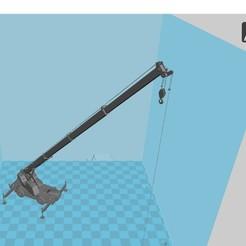 Download 3D print files Truck Crane, 3dprintiing