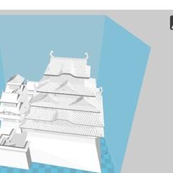 Télécharger fichier 3D gratuit Himeji Castle, 3dprintiing