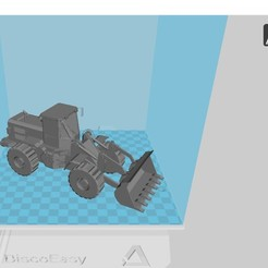Tractopelle Cat.jpg Download STL file CAT backhoe loader • 3D printable design, 3dprintiing