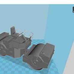 rouleau.jpg Télécharger fichier STL Rouleau Compresseur • Design pour imprimante 3D, 3dprintiing