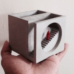 Sans titre.jpg Télécharger fichier STL Jardinière géométrique cube • Design à imprimer en 3D, 3dprintiing