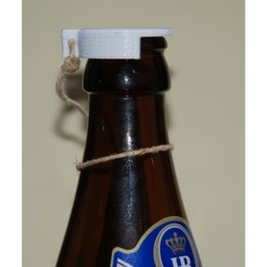 Free stl Beer Bottle Lid, dede67