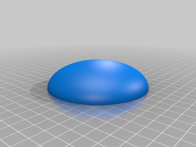 Aschenbecher-Regen-Abdeckung.png Télécharger fichier SCAD gratuit housse de pluie pour cendrier • Modèle pour imprimante 3D, dede67