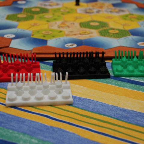 Free STL file Play figures for The Settlers of Catan, dede67