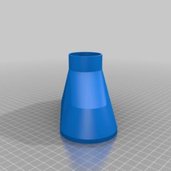 Trichter_ScheibenWaschWasser.png Download free SCAD file Funnel for the windscreen washer (customizable) • 3D printing design, dede67