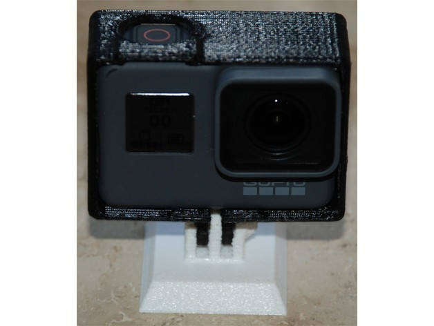 26c23fc2124f727dc7fecddb106b089c_preview_featured.jpg Download free STL file Case for GoPro Hero5 (no support needed) • Design to 3D print, dede67