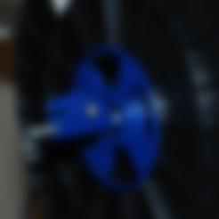 Télécharger objet 3D gratuit K8200 Porte-rouleau filamentaire avec roulements à billes, dede67