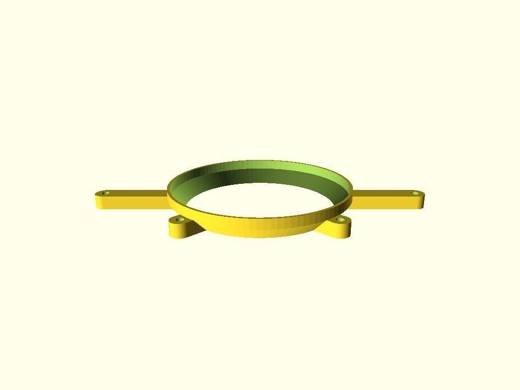e5e7ed9c0b5a142bf3b9b26d4162cb8f_display_large.jpg Download free STL file Fan Adapter 80mm -> 95mm • 3D printing design, dede67