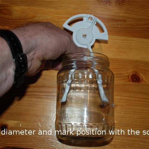 Download free 3D printing templates Inner Diameter Gauge, dede67