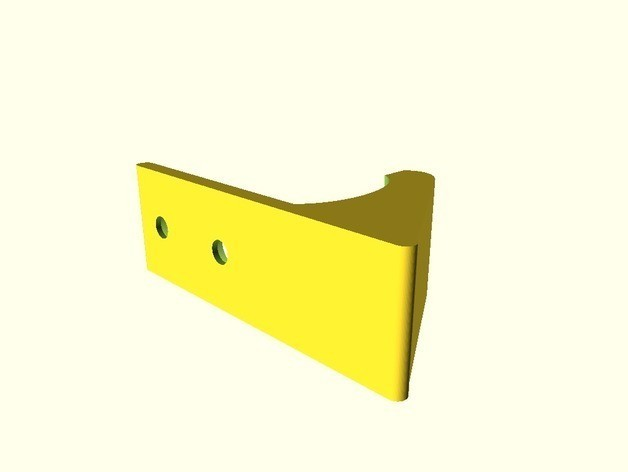 9aca3a91ffc2c26d2a33431e55717122_preview_featured.jpg Download free STL file Wall Hook V2a (customizable) • Design to 3D print, dede67