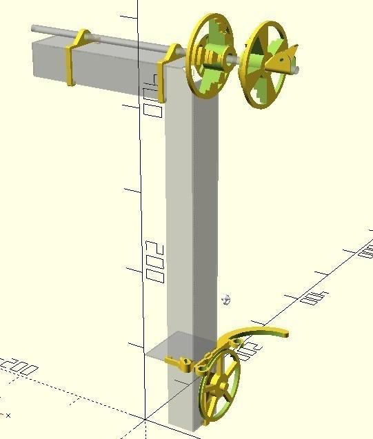 6dff8a531e7c5ea818cd2846381ac163_display_large.jpg Download free STL file Anycubic I3 Mega Spool Holder • 3D print object, dede67