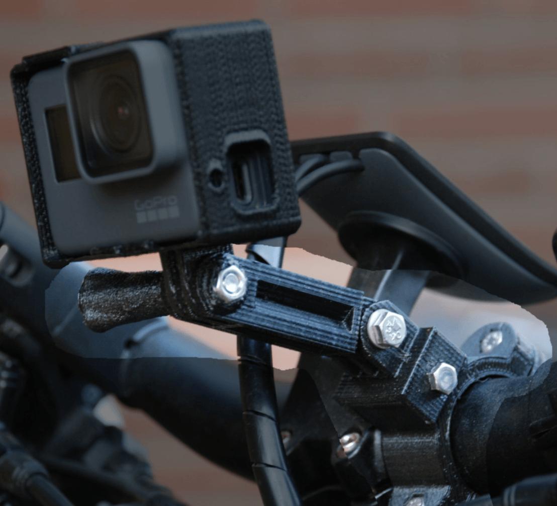 Capture d'écran 2018-05-10 à 10.45.07.png Télécharger fichier STL gratuit Support de guidon GoPro (personnalisable) • Design imprimable en 3D, dede67