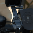 Free 3D print files GoPro Handlebar Mount (customizable), dede67