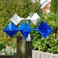 Télécharger objet 3D gratuit Wind Gauge / Windspiel V3 (personnalisable), dede67