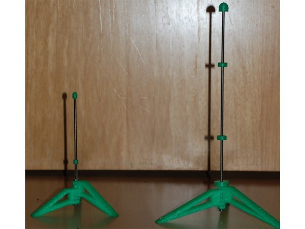 7b23c331a3807dd193083dd623698570_preview_featured.jpg Download free STL file Parametric Flute Stand • Template to 3D print, dede67