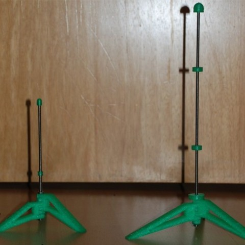 Descargar archivo 3D gratis Soporte paramétrico para flauta, dede67
