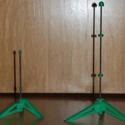 Free 3D printer model Parametric Flute Stand, dede67