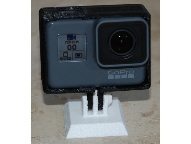 d8cfb60d701c33c6f33d1f255e5fc4e6_preview_featured.jpg Download free STL file Case for GoPro Hero5 (no support needed) • Design to 3D print, dede67