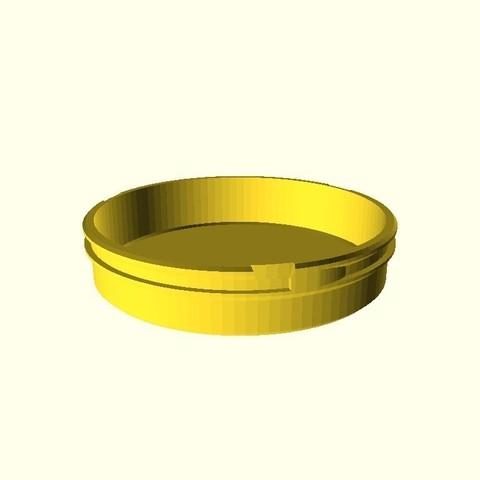 67f7376836f851a7e47cc5fc1a1d14da_display_large.jpg Download free STL file Customizable Can with Bayonet Cap • 3D print template, dede67