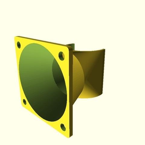Télécharger modèle 3D gratuit Ventilateur V1.1 personnalisable pour Ventilateur V1.1 tout métal et ventilateur de 40mm, dede67