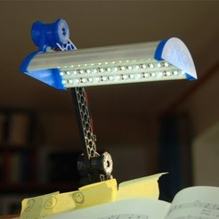Free STL file Lamp from LED-Strips V2, dede67