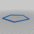 Download free SCAD file Picture Frame (customizable) • 3D printer design, dede67
