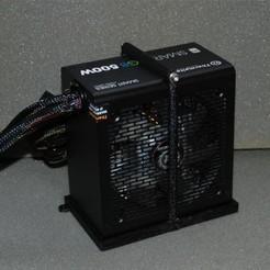 Fichier 3D gratuit Support d'alimentation ATX, dede67