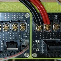 Download free 3D printer designs Dual MOSFET Base V2, dede67