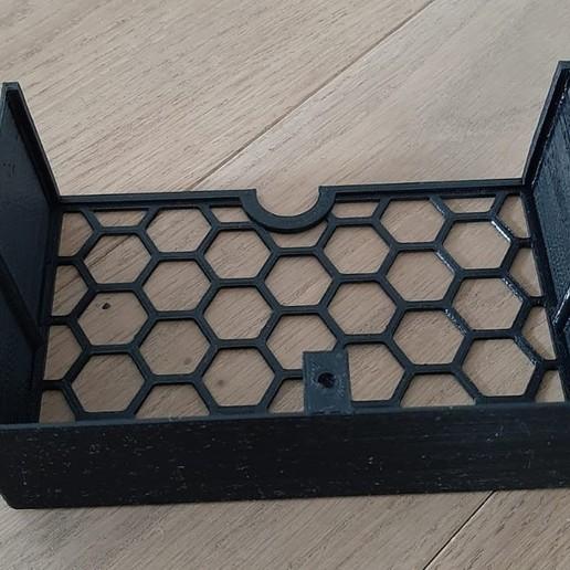 Imprimir en 3D gratis Caja de cables (personalizable), dede67