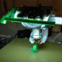 Free 3D printer file K8200 LED-Strip-Halterung, dede67