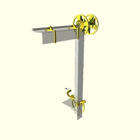2fa1e599f5385e8b38873eccb1dd2f0e_display_large.jpg Download free STL file Anycubic I3 Mega Spool Holder • 3D print object, dede67