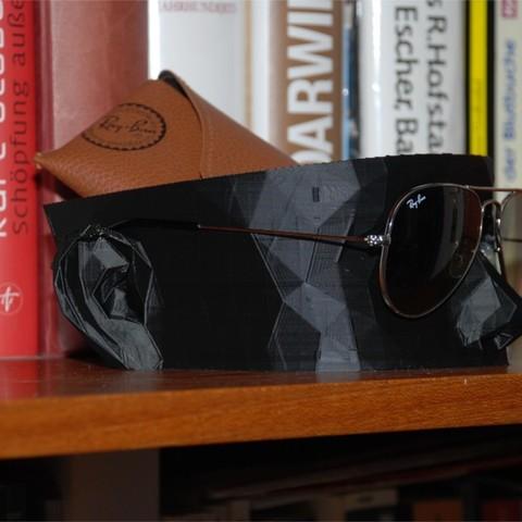 Télécharger fichier 3D gratuit Porte-lunettes de soleil (Remix), dede67