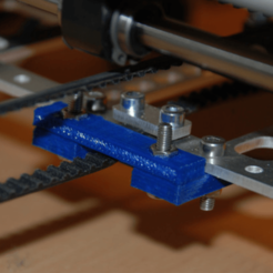 Free X-Axis Belt Tensioner 3D model, dede67
