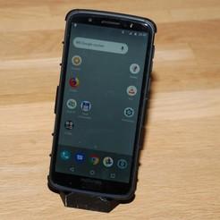 Free STL file Smartphone Stand V4, dede67