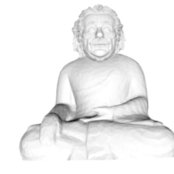 Download STL file Einstein Buddha, jamesbiller