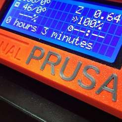 IMG_7651.jpg Download free STL file PRUSA letters - TEXT insert - SNAP in • 3D printing design, Grafit