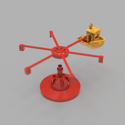 benchie_carousel.png Download free STL file Another Benchy Carousel • 3D printer object, Grafit