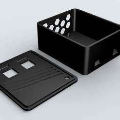box.jpg Download free STL file WIFI Motorized Slider electronics box - JJROBOTS • 3D printing object, Grafit