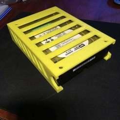 IMG_5113.JPG Download free STL file HDD drawer - under the desk • Model to 3D print, Grafit