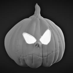 Descargar archivos STL gratis Calabaza Samhain sin soporte, Malicious_Brews