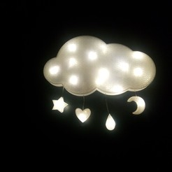 IMG_20201002_185019227[1].jpg Download STL file Cloud Led decoration, night light • 3D print template, Ushuaia3D