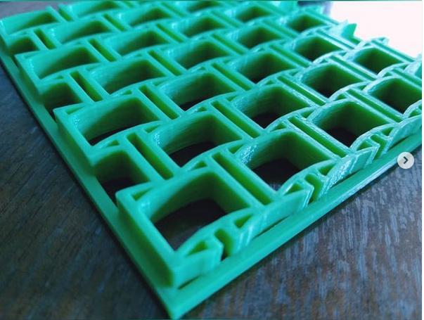 Captura.PNG Download STL file Texturizers for Porcelain / Cakes / Cookies • 3D printer template, Ushuaia3D