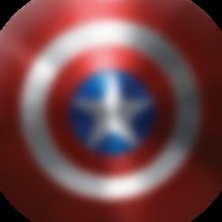 Imprimir en 3D gratis Escudo del Capitán América, jolan