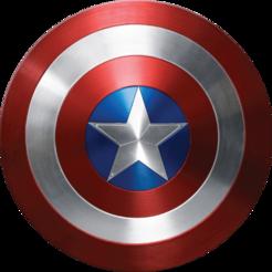 Imprimir en 3D gratis Escudo del Capitán América, JolanDJ