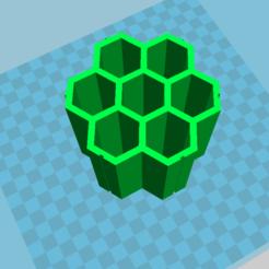 Download free 3D print files Modular hexagonal cable tray, jolan