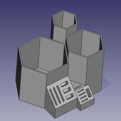 Descargar Modelos 3D para imprimir gratis Lápiz Pot/Stylo SD, USB, micro SD, jolan